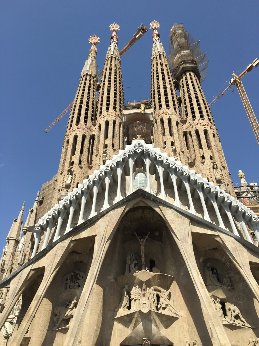 Sagrada familia barcelona sydney mcbride for Familia barcelona